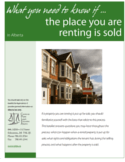 What You Need to Know If the Place You Are Renting is Sold